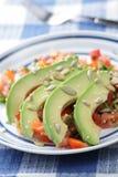 Avocado salad stock images