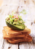 Avocado salad Royalty Free Stock Photos