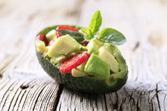 Avocado Salad Royalty Free Stock Photography