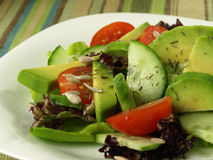 Avocado salad Royalty Free Stock Image