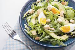 Avocado salad Royalty Free Stock Images