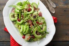 Avocado salad with celery Royalty Free Stock Photo