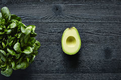 Avocado and salad green lifestyle Royalty Free Stock Images