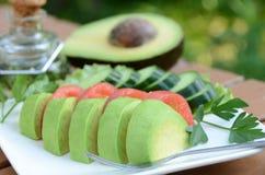 Avocado salad Royalty Free Stock Images