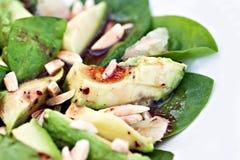 Avocado-Salat lizenzfreie stockfotografie