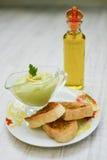 Avocado sauce Royalty Free Stock Image