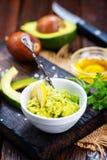 Avocado sauce Royalty Free Stock Photos