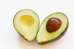Avocado schnitt Lizenzfreies Stockfoto