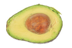 Avocado with Seed Royalty Free Stock Images