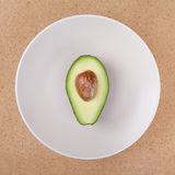 Avocado seed Stock Photo