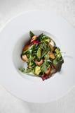 Avocado and shrimp salad Stock Photo