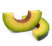 Avocado slice Stock Photos