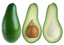 Avocado slice Stock Photography