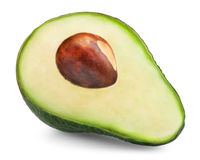 Avocado slice Royalty Free Stock Photos
