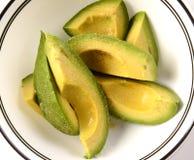 Avocado Slices Stock Photography