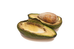 Avocado slices Royalty Free Stock Photos