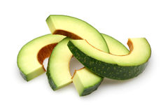 Avocado Slices Stock Photography