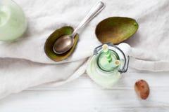 Avocado Smoothie Lizenzfreie Stockbilder