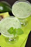 Avocado smoothie Royalty Free Stock Photos