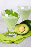 Avocado smoothie Stock Photography