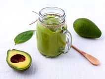 Avocado smoothie Royalty Free Stock Photo