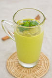 Avocado smoothie [Healthy drink ] Stock Photos