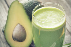 Avocado smoothie Stock Photo
