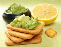 Avocado Snack Royalty Free Stock Images