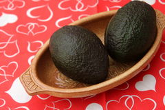 Avocado. Some fresh avocado for making a mexican guacamole royalty free stock photo