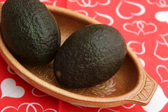 Avocado. Some fresh avocado for making a mexican guacamole stock images