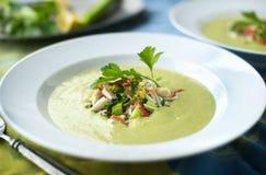 Avocado Soup Stock Photos