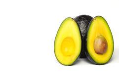 Avocado splited Lizenzfreie Stockfotografie