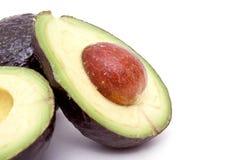 avocado tła biel Zdjęcia Royalty Free