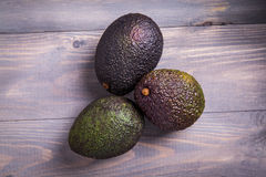 Avocado on a table Stock Images