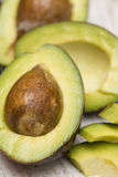 Avocado on the table Stock Image