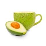 Avocado tea Stock Photography