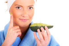 Avocado treatment Stock Photos