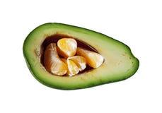 Avocado und Tangerinen Lizenzfreie Stockfotografie