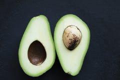 Avocado w cięciu Zdjęcia Royalty Free