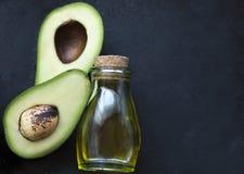 Avocado w cięciu Obraz Stock