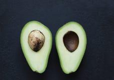 Avocado w cięciu Fotografia Royalty Free