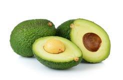Avocado on white background Stock Images