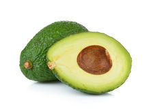 Avocado on white background Royalty Free Stock Photo