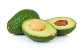 Avocado on white background Stock Photography