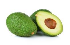 Avocado on white background Royalty Free Stock Photography