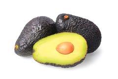 Fresh Avocado on a white background. Avocado on a white background stock photography