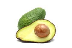 Avocado on white background. Avocado isolated on white background stock photography