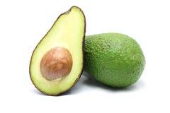 Avocado on white background. Avocado isolated on white background royalty free stock image