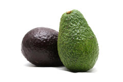 Avocado on white background Stock Photography