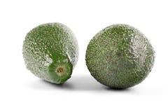 Avocado on white background - studio soht stock photo
